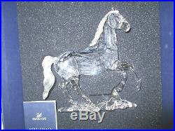 Swarovski Crystal Figurine Large Stallion Horse 898508 MIB WITH COA