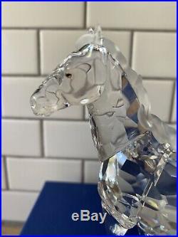 Swarovski Crystal Figurine Mare Horse A 9100 NR 000 045 MIB Box And Booklet