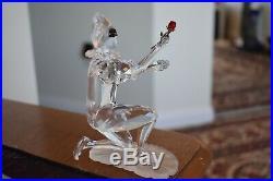 Swarovski Crystal Figurine Masquerade Harlequin 2001 SCS Annual Ed Box 254044