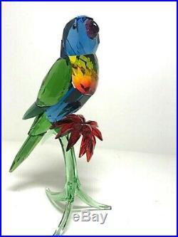 Swarovski Crystal Figurine Paradise Bird, Rainbow Lorikeet 5136832