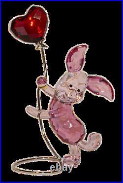 Swarovski Crystal Figurine, Piglet Disney Colored with Balloon 2.75 (1142890) No