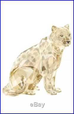 Swarovski Crystal Figurine SCS A. E. 2019 AMUR LEOPARD SOFIA #548541