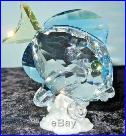 Swarovski Crystal Figurine SCS BLUE TANG FISH 886 180 / 9100 000 066