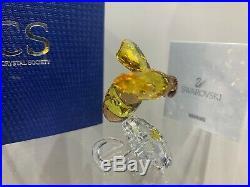 Swarovski Crystal Figurine SCS Event Piece Bumble Bee On Flower 5244639 MIB WithCA