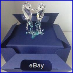 Swarovski Crystal Figurine Sea Horses