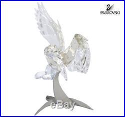 Swarovski Crystal Figurine Soulmates SNOWY OWL 2013 Limited Edition #5004640
