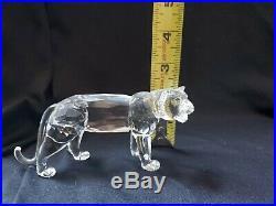 Swarovski Crystal Figurine Tiger