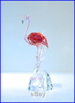 Swarovski Crystal Flamingo Red Exotic Bird Large 5302529 Brand New In Box