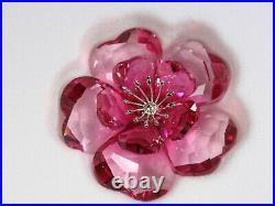 Swarovski Crystal Flower, Darose MIB #956808