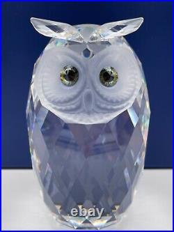Swarovski Crystal Giant Owl Retired #10125