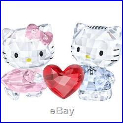Swarovski Crystal Hello Kitty & Dear Daniel 5428570. New In Box