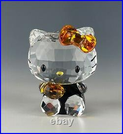 Swarovski Crystal Hello Kitty Halloween Retired Mint In Box