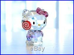 Swarovski Crystal Hello Kitty Lollipop Pink 5269295 Brand New In Box