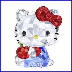 Swarovski Crystal Hello Kitty Red Apple 5400144. New In Box