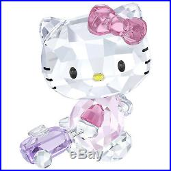 Swarovski Crystal Hello Kitty Traveller Decoration Figurine 5279082