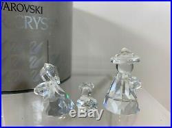 Swarovski Crystal Holy Family Nativity Scene 7475 100 000 MIB WithCOA