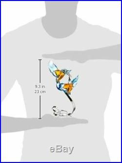 Swarovski Crystal Kingfisher Figurine New 5136835 Birds Couple Rare Cute Us
