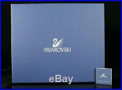 Swarovski Crystal Kingfishers Birds Figurine Blue Turquoise with Original Blue Box