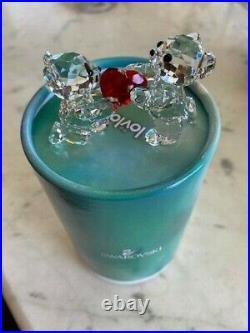 Swarovski Crystal Kris Bear My Heart Is Yours Figurine #1143463 Valentine's