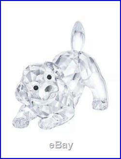 Swarovski Crystal LABRADOR PUPPY PLAYING 5408608