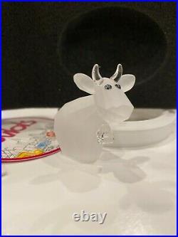 Swarovski Crystal Lovlots Figurine FROSTED MO Super Rare Brand New In Box