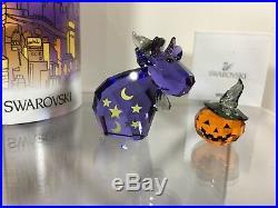 Swarovski Crystal Lovlots Magic Mo & Pumpkn 9100 000 388 / 1139968 MIB WithCOA NEW