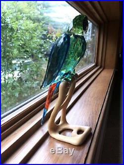 Swarovski Crystal Macaw Limited addition paradise large bird retired
