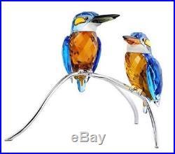 Swarovski Crystal Malachite Kingfishers Blue Turquoise 5155669 NEW MIB COA