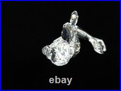 Swarovski Crystal Mermaid Holding Pearl Figurine WithPadded Box 827603 Retired