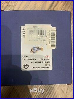 Swarovski Crystal Mint Catumbela Light Sapphire Fish 9601 030 801 / 656974 MIB