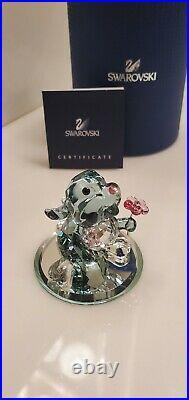 Swarovski Crystal Mint Disney Figure Thumper From Bambi 5004689 MIB WithCOA