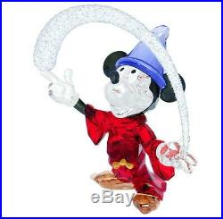Swarovski Crystal Mint Disney Sorcerer Mickey Limited Edition 5004740 Fantasia