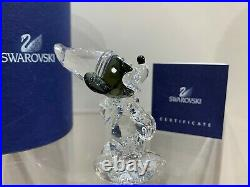 Swarovski Crystal Mint Figurine Disney Sorcerer Mickey Small 955427 MIB WithCOA