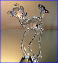 Swarovski Crystal Mint Figurine Disney's Bambi Clear Rare 9100 000 114 / 943951