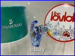 Swarovski Crystal Mint Figurine Lovlots Tom The Cat Blue 1120210 MIB WithCOA