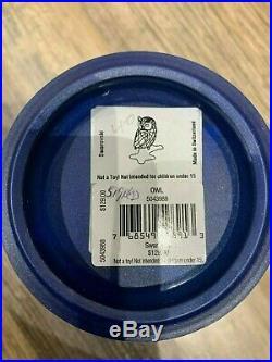 Swarovski Crystal Mint Figurine Owl On A Branch Clear 5043988 MIB