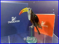 Swarovski Crystal Mint Figurine Paradise Birds Belyaka Black Diamond 275579 MIB