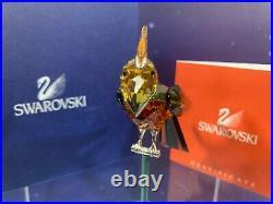 Swarovski Crystal Mint Figurine Paradise Birds Bonriki Topaz 275577 MIB WithCOA
