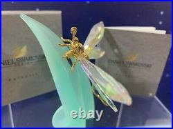 Swarovski Crystal Mint Figurine Paradise Bugs Dragonfly Large 9601 012 201 MIB