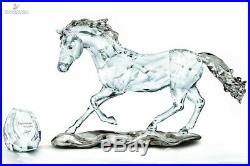 Swarovski Crystal Mint Figurine SCS 2014 Esperanza Horse 5004728 MIB WithCOA