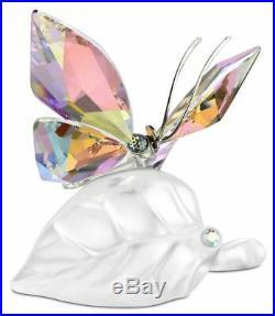 Swarovski Crystal Mint Figurine Sparkling Butterfly Colored 1113559 MIB