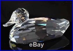 Swarovski Crystal Mint Giant Mallard Duck Huge & Rare 7647 250 000 / 014438 MIB