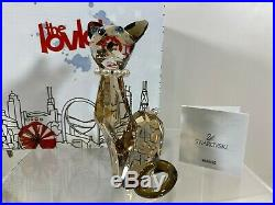 Swarovski Crystal Mint Lovlots Diane The Siamese Cat 9100 000 142 / 988017 MIB