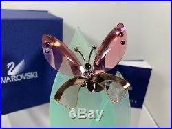 Swarovski Crystal Mint Paradise Butterfly Azua Padparadscha 719182 MIB WithCOA
