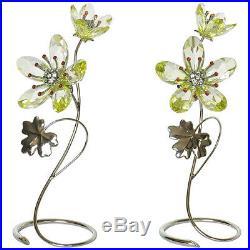Swarovski Crystal Mint Paradise Flowers DEORIA YELLOW 0957583 Flower MIB