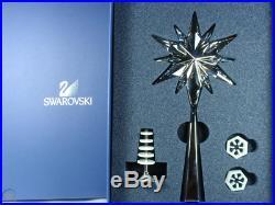 Swarovski Crystal Mint ROCKEFELLER SHINING STAR CHRISTMAS TREE TOPPER 843215
