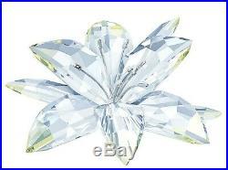 Swarovski Crystal Mint Sparkle Lily Beautiful Yellow & Clear Flower 5117446 NEW