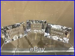 Swarovski Crystal Mint Wonders of the Sea HARMONY COMMUNITY ETERNITY Clear Set