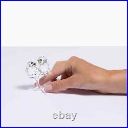 Swarovski Crystal Owl Couple Decoration Figurine 5493722