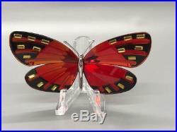 Swarovski Crystal PARADISE ADENA BUTTERFLY Mint Condition. No Box